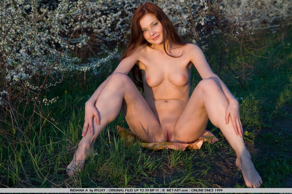 Russian nude redhead 2