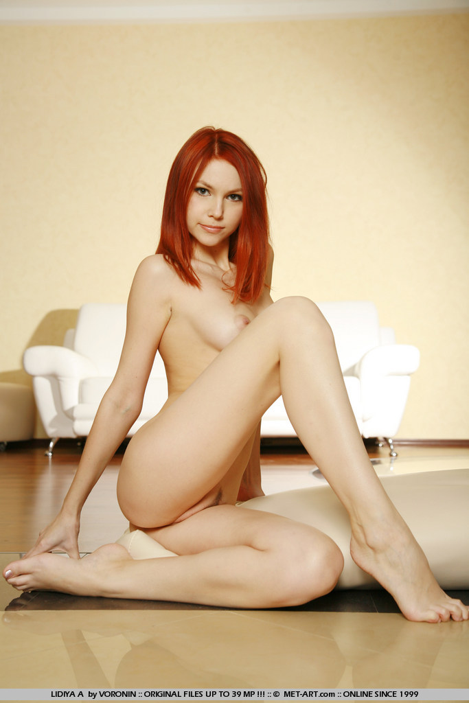 Always happy and with reason, this beautiful redhead is a favorite.