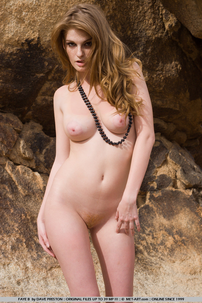 This endangered animal is the model of the caves, Faye has luscious brown hair that is dazzling as she roams the caves naked.