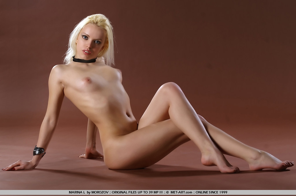 Raunchy and exciting blonde gets a bit softcore.