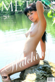 VIVIEN, Asian goddess on the river with no cares and no cloths, she has dark hair, cat like eyes, and pointy breasts with creamy white skin.