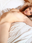 Young Wonderful Nude Girl With Dark Hair Blue Eyes Medium Breasts And Perfectly Pointy Nipples - Picture 14