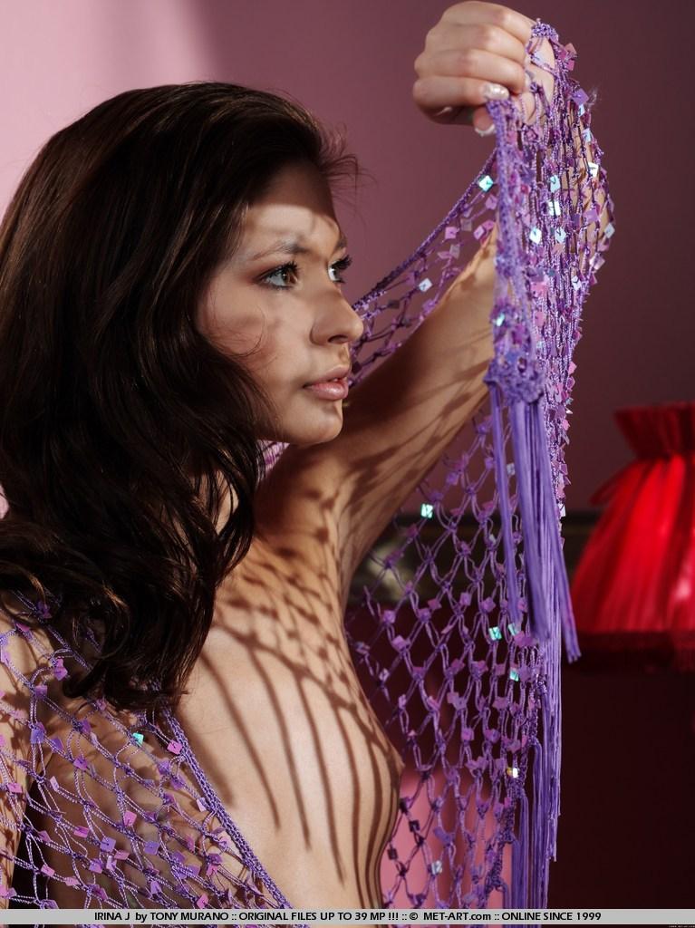 Irina J in Allure by Tony Muranot photo 17