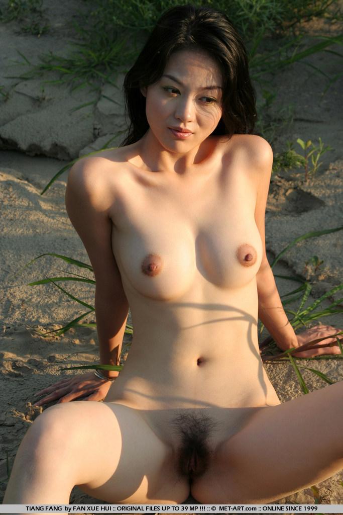 Nude Contorsionist