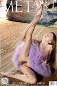 Ballet rehearsal complete pretty ballerina model in petite erotic poses Jasmine A. Goncharov. Ballet shoes, blue eyes, brown hair, caucasian, long hair, mature, medium breasts, skirt, trimmed, tutu