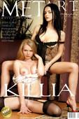 Danielle C & Jenya D Nude in Killia